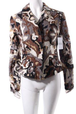 Guru Wool Blazer camouflage pattern