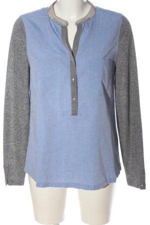 Gustav Long Sleeve Blouse blue-light grey casual look