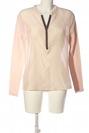 Gustav Long Sleeve Blouse pink-silver-colored casual look
