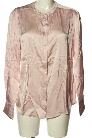 Gustav Oversized Blouse pink wet-look