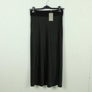 Gustav Maxi Skirt black-anthracite polyester