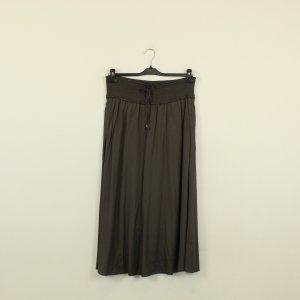 Gustav Midi Skirt grey brown