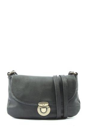 Gusti Leder Mini sac noir style d'affaires