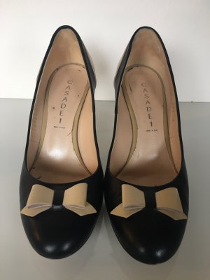 Casadei High Heels beige-black