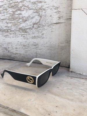 Gucci Gafas Retro negro-blanco