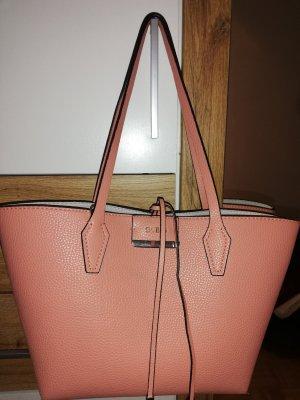 Gut erhaltene Guess Tasche in Rosa