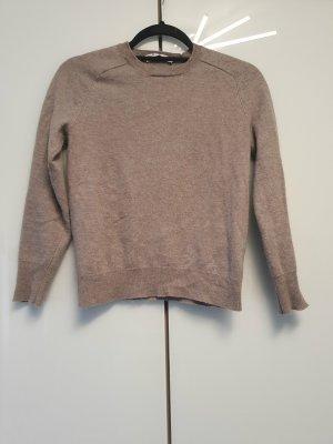 Zara Pull kimono gris brun-marron clair