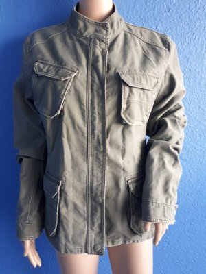 Closed Safari Jacket grey brown real gold