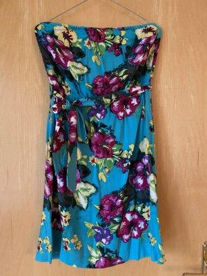 H&M Divided Off-The-Shoulder Dress multicolored viscose