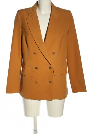 Guts&Gusto Long-Blazer hellorange Business-Look