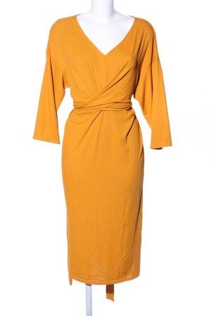 Guts&Gusto Shirt Dress light orange business style