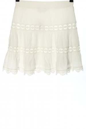 Guts&Gusto Lace Skirt white casual look