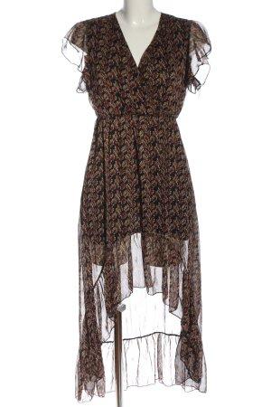 Guts&Gusto Asymetryczna sukienka Na całej powierzchni W stylu casual