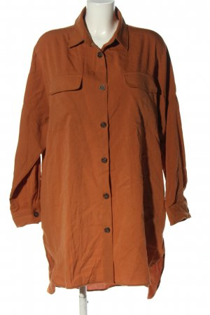 Guts&Gusto Vestido mullet marrón look casual