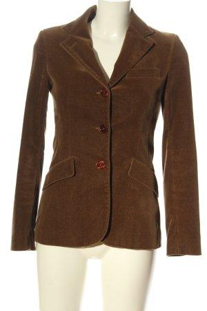 Guy Rover Blazer tejido marrón estilo «business»