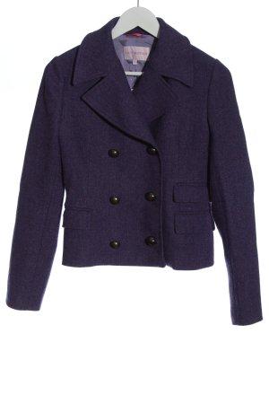 Guy Rover Blazer de lana lila moteado look casual