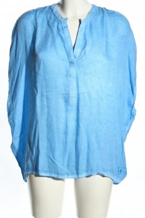 gwynedds ärmellose Bluse blau Casual-Look
