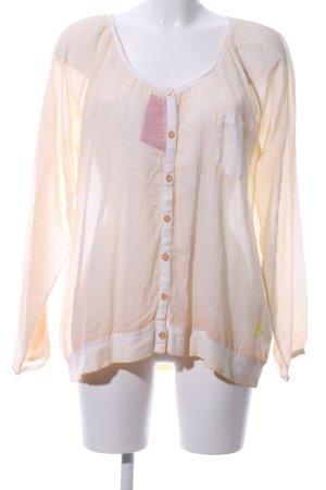 gwynedds Langarm-Bluse creme Casual-Look