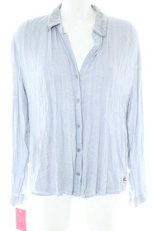 gwynedds Langarmhemd blau Casual-Look