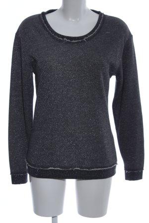 gwynedds Sweatshirt schwarz Allover-Druck Casual-Look