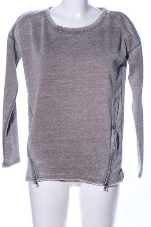 gwynedds Suéter gris claro moteado look casual