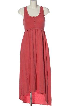 gwynedds Robe bas asymétrique rose style décontracté