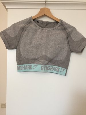 GYMSHARK Cropped Shirt multicolored