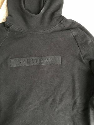 GYMSHARK Pull à capuche noir