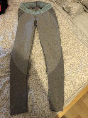 GYMSHARK Legging gris clair-bleu clair