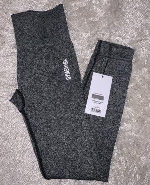 GYMSHARK Legging gris anthracite-noir