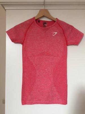 GYMSHARK Maglietta sport rosa