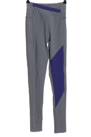 GYMSHARK Sporthose hellgrau-blau Casual-Look