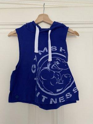 GYMSHARK Sports Shirt blue