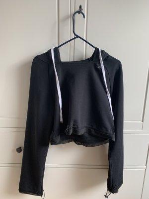 GYMSHARK Hooded Sweater black