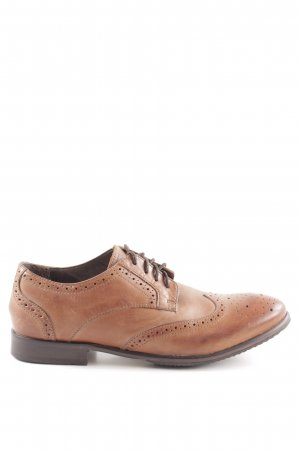 H by hudson Chaussure Oxford brun style classique