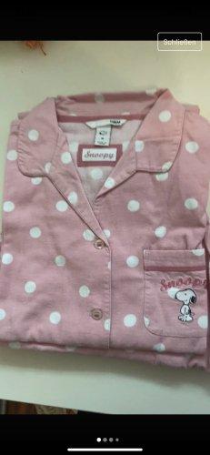 H&M Pyjama or rose-blanc