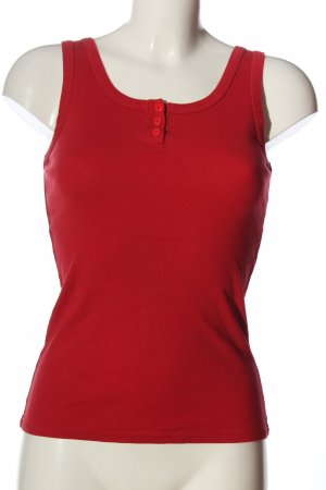 H.I.S Top basic rosso stile casual