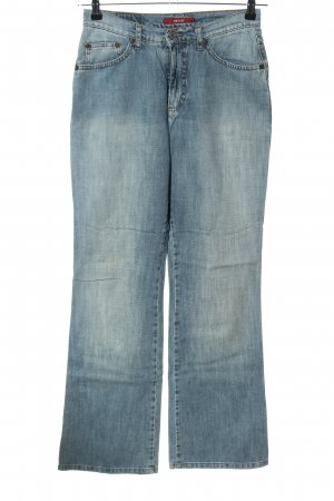 H.I.S Boot Cut Jeans blau Casual-Look
