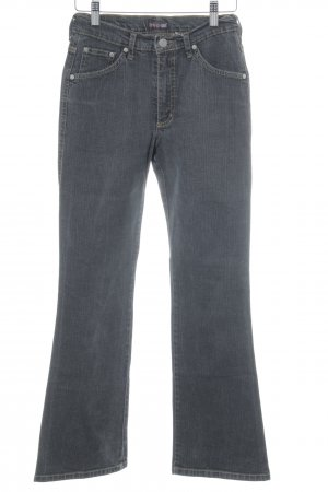H.I.S Boot Cut Jeans anthrazit Jeans-Optik