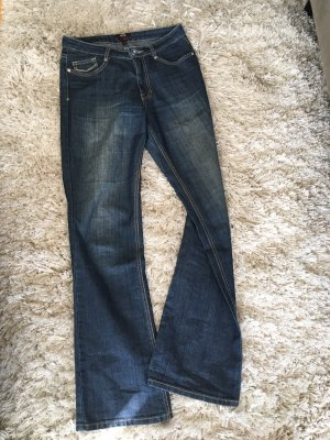H.I.S Boot Cut Jeans dark blue