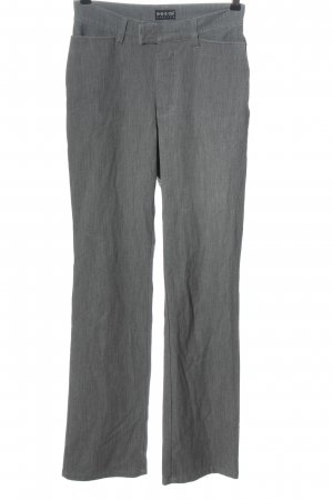 H.I.S Pantalone a vita alta grigio chiaro stile casual