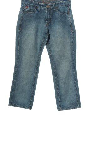 H.I.S High Waist Jeans blau Casual-Look