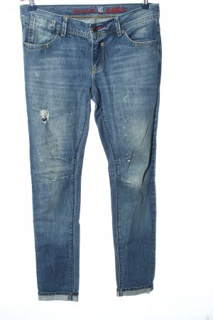 H.I.S Skinny Jeans blau Street-Fashion-Look