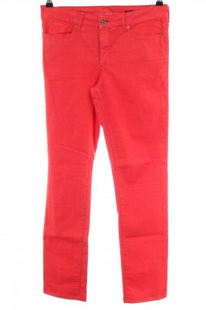 H.I.S Slim Jeans rot Casual-Look