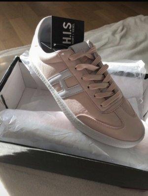 H.I.S. Sneaker 39 NEU OVP weiß rosa Schuhe