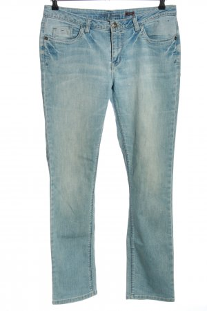 H.I.S Straight-Leg Jeans blau Casual-Look