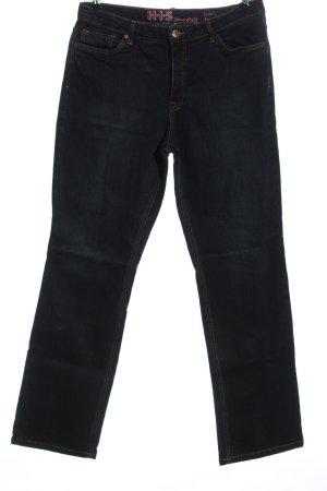 H.I.S Jeansy z prostymi nogawkami niebieski W stylu casual