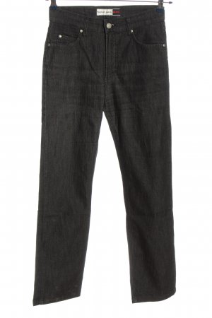 H.I.S Straight-Leg Jeans schwarz Casual-Look