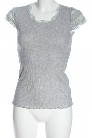H.liesel Lace Top light grey casual look