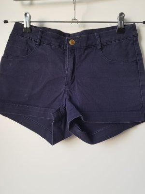H&M Shorts blu scuro